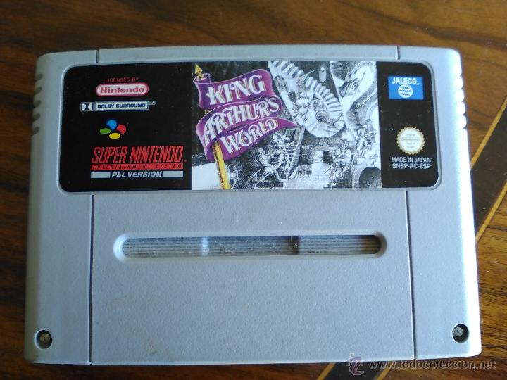 JUEGO SUPERNINTENDO KING ARTHUR´S WORLD. (Juguetes - Videojuegos y Consolas - Nintendo - SuperNintendo)