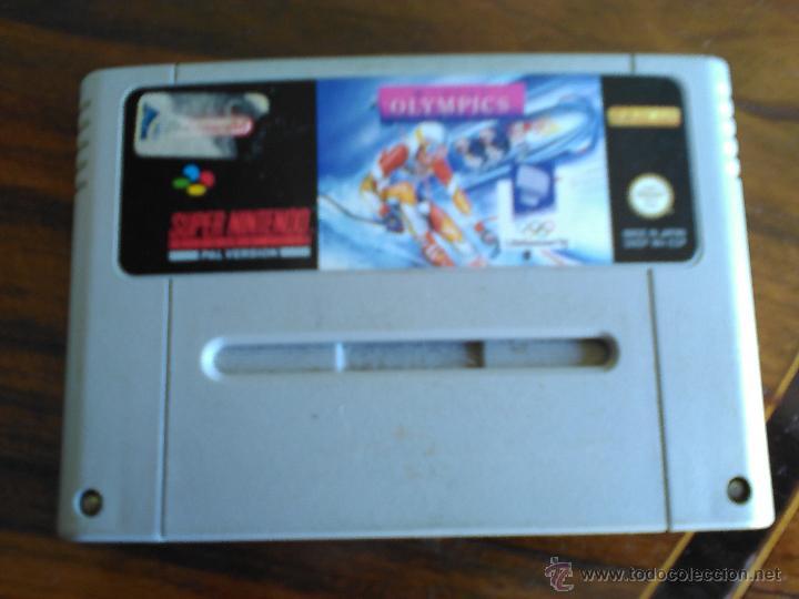 JUEGO SUPERNINTENDO WINTER OLYMPICS. (Juguetes - Videojuegos y Consolas - Nintendo - SuperNintendo)