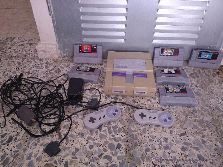 SUPERNINTENDO AMERICANA (Juguetes - Videojuegos y Consolas - Nintendo - SuperNintendo)
