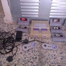 Videojuegos y Consolas: SUPERNINTENDO AMERICANA. Lote 48841009