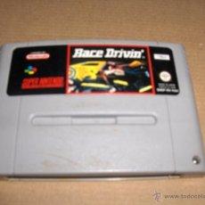 Videojuegos y Consolas: RACE DRIVIN SUPERNINTENDO. Lote 50754625