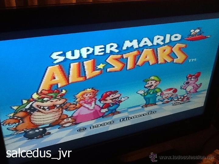 Videojuegos y Consolas: Consola Super Nintendo SNES PAL Completa con Caja Embalaje Original Funcionando Regular - Foto 24 - 163379714