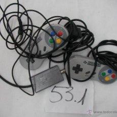 Videojuegos y Consolas: MANDOS Y COMPLEMENTOS SUPER NINTENDO. Lote 222598522