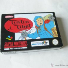Videojuegos y Consolas: JUEGO DE SUPERNINTENDO - SUPER NINTENDO NES A ESTRENAR - TINTIN EN EL TIBET - SNSP. Lote 51169617