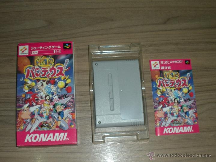 PARODIUS GOKUJOH COMPLETO SUPER NINTENDO SUPER FAMICOM JP (Juguetes - Videojuegos y Consolas - Nintendo - SuperNintendo)