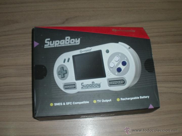 CONSOLA SUPER NINTENDO SUPABOY PORTATIL (Juguetes - Videojuegos y Consolas - Nintendo - SuperNintendo)