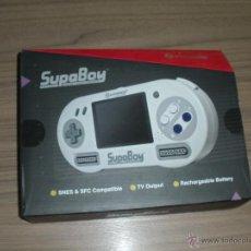 Videojuegos y Consolas: CONSOLA SUPER NINTENDO SUPABOY PORTATIL. Lote 52142012