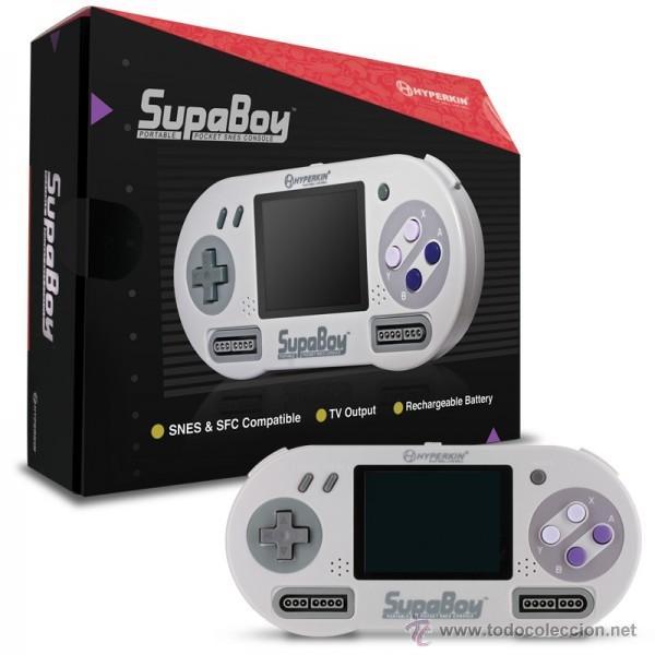 Videojuegos y Consolas: Consola SUPER NINTENDO SupaBoy PORTATIL - Foto 2 - 52142012
