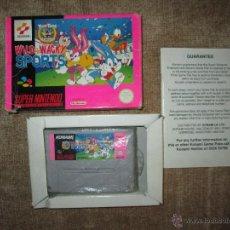 Videojogos e Consolas: SUPER NINTENDO SNES ~ TINY TOON WILD WACKY SPORTS COMPLETO ~ PAL / ESPAÑA. Lote 52476437