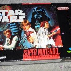 Videojuegos y Consolas: SUPER STAR WARS - SUPERNINTENDO - STAR WARS -. VERSION PAL-LA GUERRA DE LAS GALAXIAS. Lote 53367932