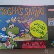Videojuegos y Consolas: PRECINTADO. COLECCIONISTA. YOSHI'S SAFARI JUEGO SUPER NINTENDO SNES PAL VERSIÓN ESPAÑOLA YOSHIS. Lote 53528410