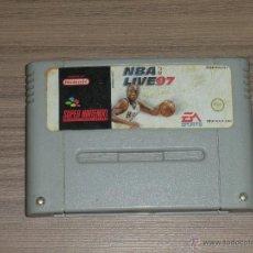 Videojuegos y Consolas: NBA LIVE 97 JUEGO SUPER NINTENDO SNES PAL. Lote 54308094
