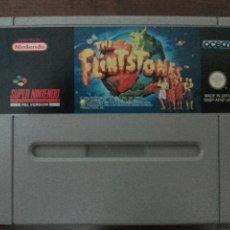 Videojuegos y Consolas: THE FLINTSTONES SNES SUPER NINTENDO. Lote 54935749