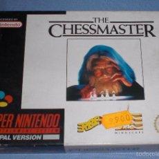 Videojuegos y Consolas: VIDEOJUEGO THE CHESSMASTER SUPER NINTENDO CARTUCHO. Lote 55387691