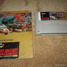 Videojuegos y Consolas: SUPER NINTENDO SNES ~ STREET FIGHTER 2 + MANUAL ~ PAL / EUROPA. Lote 56226671
