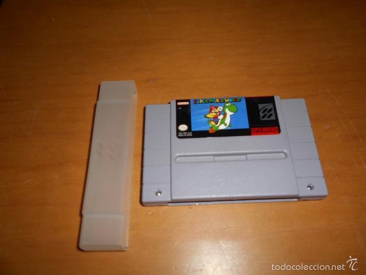 JUEGO SUPER MARIO WORLD CONSOLA SUPER NINTENDO (Juguetes - Videojuegos y Consolas - Nintendo - SuperNintendo)