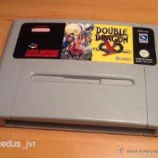Videojuegos y Consolas: DOUBLE DRAGON V 5 SHADOW FALLS PARA SUPER NINTENDO SNES NES PAL CARTUCHO EN. Lote 56675138