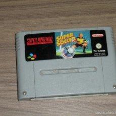 Videojuegos y Consolas: SUPER SOCCER JUEGO SUPER NINTENDO SNES PAL ESPAÑA. Lote 56693825