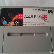 Videojuegos y Consolas: HYBRID WRESTLER SUPER FAMICOM JAPONÉS NINTENDO SNES JAP.NTSC-J.SFC.. Lote 56849963