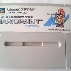 Videojuegos y Consolas: MARIO PAINT SHVC-MP SUPER FAMICOM JAPONÉS NINTENDO JAP.NTSC-J.SNES.SFC. Lote 56863344