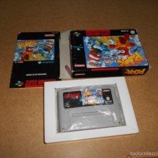 Videojuegos y Consolas: PLOK JUEGO PARA SUPER NINTENDO SNES PAL COMPLETO. Lote 56969498