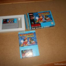 Videojuegos y Consolas: SUPER NINTENDO SNES ~ THE MAGICAL QUEST ~ COMPLETO ~ PAL / ESPAÑA. Lote 56969536