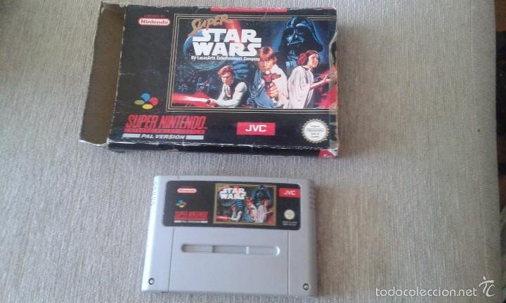 Videojuegos y Consolas: SUPER STAR WARS - supernintendo - star wars -. version pal-la guerra de las galaxias - Foto 1 - 57765199