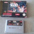 Videojuegos y Consolas: SUPER STAR WARS - SUPERNINTENDO - STAR WARS -. VERSION PAL-LA GUERRA DE LAS GALAXIAS. Lote 57765199