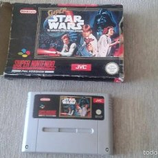 Videojuegos y Consolas: SUPER STAR WARS - SUPERNINTENDO - STAR WARS -. VERSION PAL-LA GUERRA DE LAS GALAXIAS. Lote 57765199