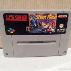 Videojuegos y Consolas: JUEGO SUPERNINTENDO STUNT RACE FX PAL VERSION VER FOTOS. Lote 57847305