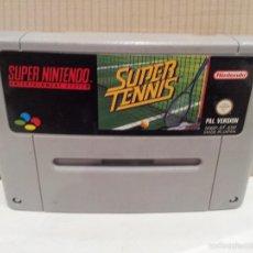 Videojuegos y Consolas: JUEGO SUPERNINTENDO SUPER TENNIS PAL VERSION VER FOTOS. Lote 57847421