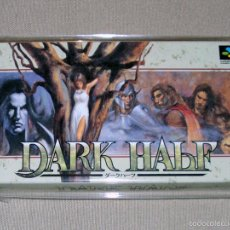 Videojuegos y Consolas: DARK HALF, EN PERFECTO ESTADO NTSC JAP -SNES-. Lote 59942475