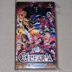 Videojuegos y Consolas: ELFARIA, EN PERFECTO ESTADO NTSC JAP -SNES-. Lote 59942527