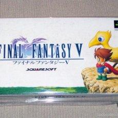 Videojuegos y Consolas: FINAL FANTASY V, EN PERFECTO ESTADO NTSC JAP -SNES-. Lote 59942535