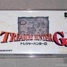 Videojuegos y Consolas: TREASURE HUNTER G, EN PERFECTO ESTADO NTSC JAP -SNES-. Lote 59942967