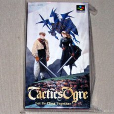 Videojuegos y Consolas: TACTICS OGRE: LET US CLING TOGETHER, EN PERFECTO ESTADO NTSC JAP -SNES-. Lote 59942975