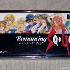 Videojuegos y Consolas: ROMANCING SAGA, EN PERFECTO ESTADO NTSC JAP -SNES-. Lote 242154680