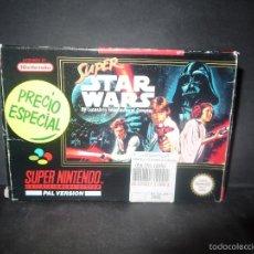 Videojuegos y Consolas: SUPER STARS WARS, SUPER NINTENDO, PAL VERSION, COMPLETO.. Lote 60469111