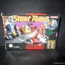 Videojuegos y Consolas: STUNT RACE, SUPER NINTENDO, PAL VERSION, COMPLETO.. Lote 60469407