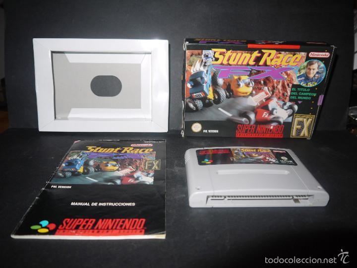 Videojuegos y Consolas: STUNT RACE, SUPER NINTENDO, PAL VERSION, COMPLETO. - Foto 3 - 60469407