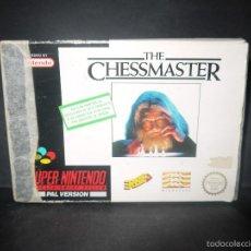 Videojuegos y Consolas: THE CHESSMASTER,SUPER NINTENDO, PAL VERSION, COMPLETO.. Lote 60469707