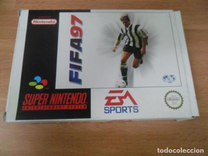 Videojuegos y Consolas: Fifa 97 - Super Nintendo SNES - Completo - PAL ESPAÑA - Foto 2 - 61894064