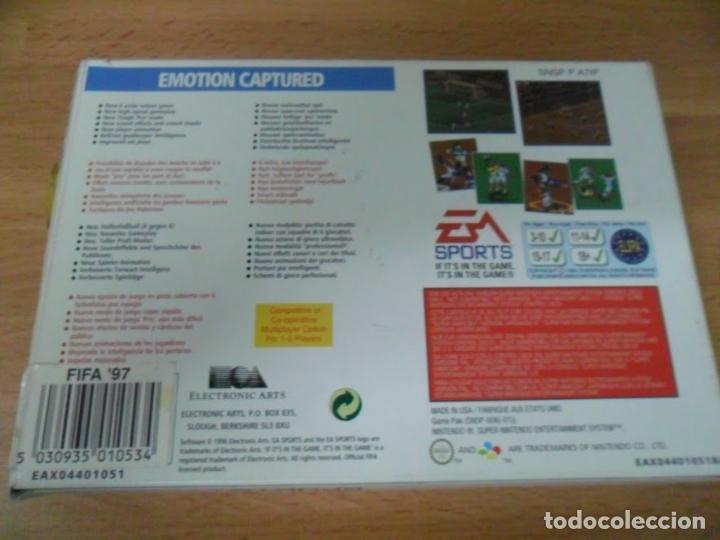 Videojuegos y Consolas: Fifa 97 - Super Nintendo SNES - Completo - PAL ESPAÑA - Foto 3 - 61894064