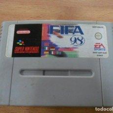 Videojuegos y Consolas: FIFA 98 - SUPER NINTENDO SNES - PAL EUR. Lote 61894560