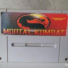 Videojuegos y Consolas: MORTAL KOMBAT SUPER NINTENDO . Lote 64651446