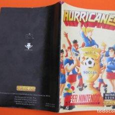 Jeux Vidéo et Consoles: SUPERNINTENDO SNES MANUAL INSTRUCCIONES HURRICANES SOCCER. Lote 64050007