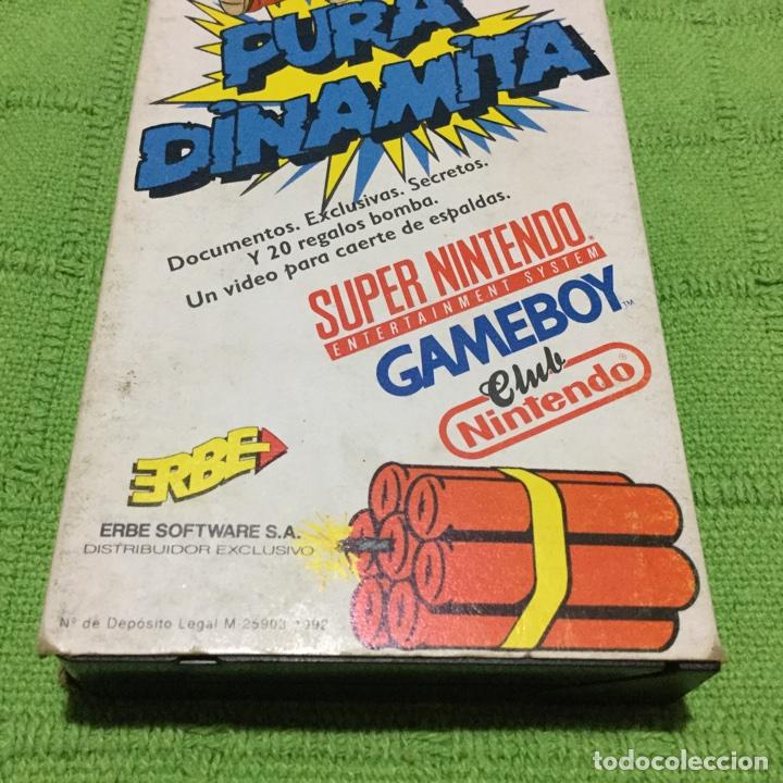 Videojuegos y Consolas: Pura Dinamita - ERBE Software - Súper Nintendo - GameBoy - Foto 3 - 64055693