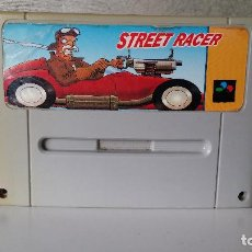 Videojuegos y Consolas: JUEGO SUPER NINTENDO STREET RACER. Lote 64115831