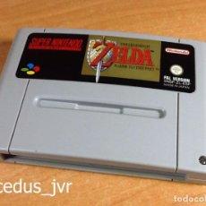 Videojuegos y Consolas: ZELDA A LINK TO THE PAST JUEGO PARA SUPER NINTENDO SNES PAL ESPAÑA EN MUY BUEN ESTADO. Lote 64579531