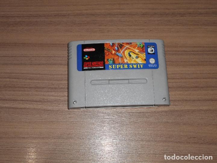 SUPER SILK WORM SWIV IV JUEGO ORIGINAL SUPER NINTENDO SNES PAL ESPAÑA (Juguetes - Videojuegos y Consolas - Nintendo - SuperNintendo)